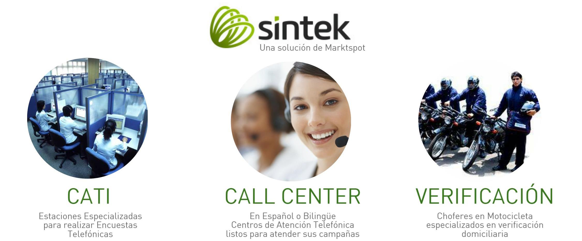 Sintek, servicios de call center
